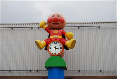 アンパンマンこどもミュージアム、時計台
