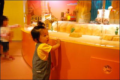 アンパンマンこどもミュージアム、息子のリアクション