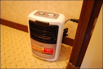 くも膜下出血の再発を防ぐ為に01:気温差をなくす為にトイレに簡易暖房機を設置